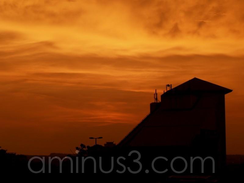 Sunset at Cyberjaya