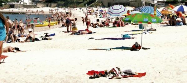 beach sanxenxo