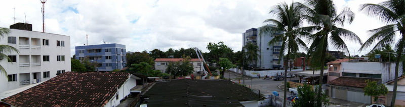 Panoramic photo out my window