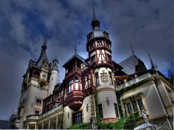 Peles Castle - Sinaia, Romania. HDR