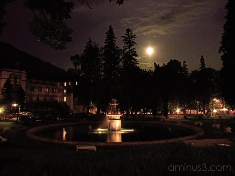 Sinaia Park. HDR