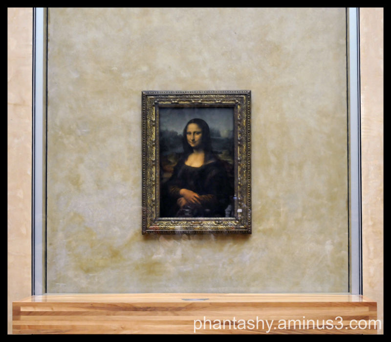 Mona Lisa, Musee du Louvre - Paris, France