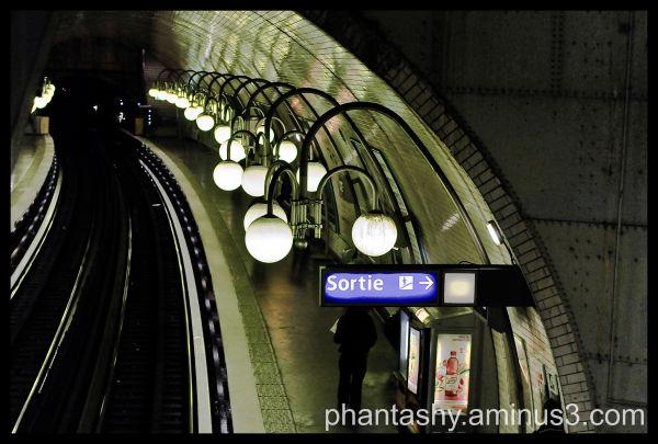 Subway in Paris, France