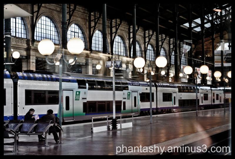 Gare centrale - Paris, France