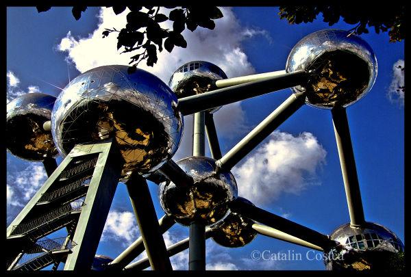 Atomium 1958 - Bruxelles, Belgium