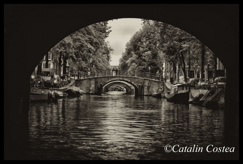 On the streets of Amsterdam - Bridge