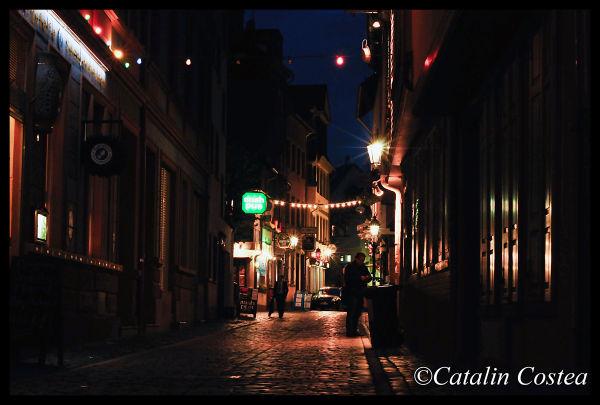 On the streets of Frankfurt - Irish Pub