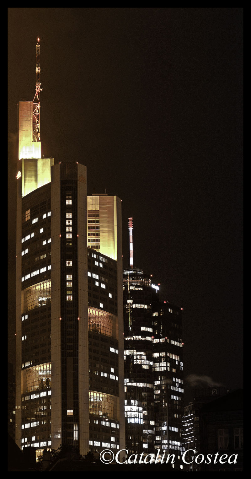 On the streets of Frankfurt - Tower III