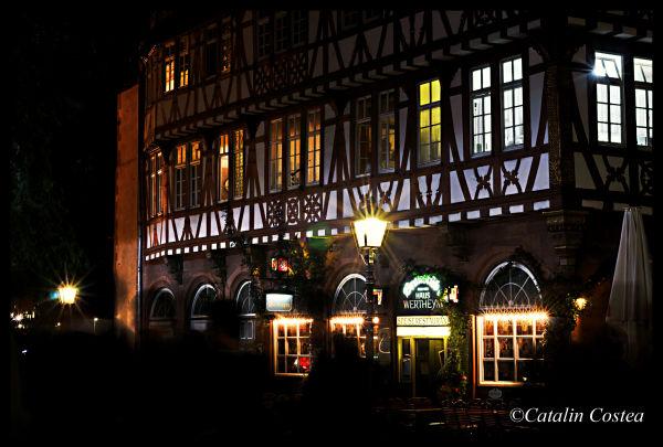 On the streets of Frankfurt - The bar