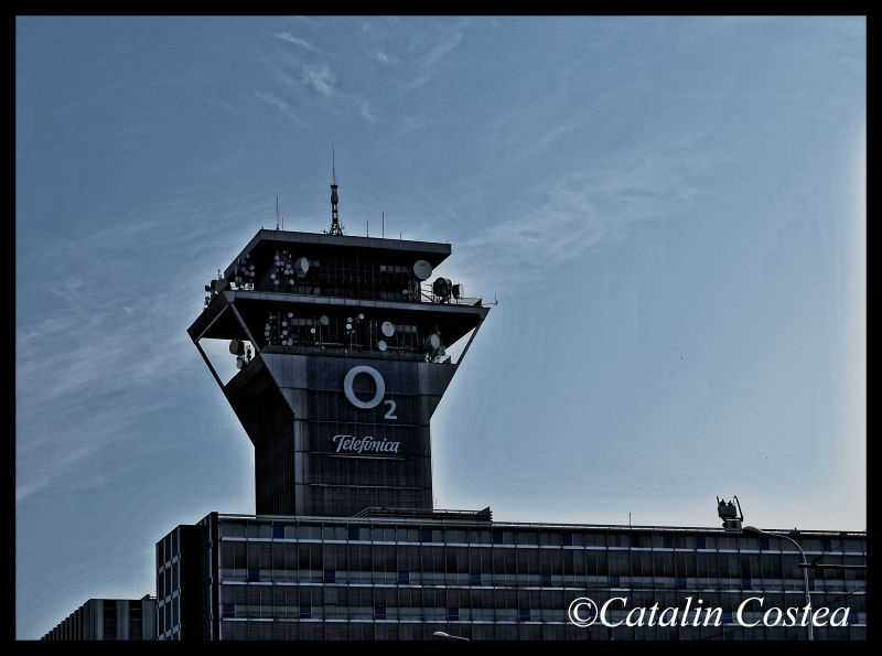 On the streets of Prague - O2 Tower