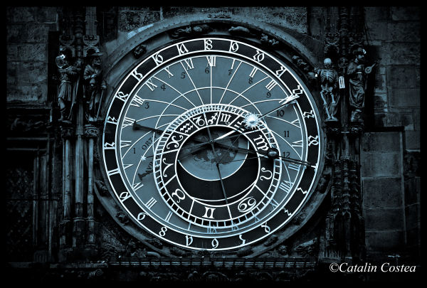 On the streets of Prague - Astronomical Clock