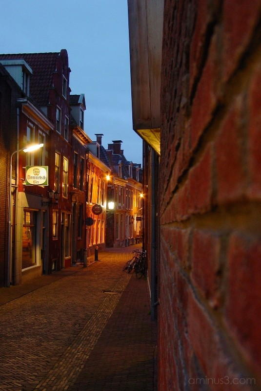 Alley in Morning Twilight - Leeuwarden 9
