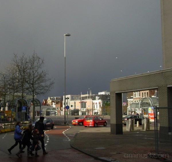 Leeuwarden II #1: Approaching Hail Shower