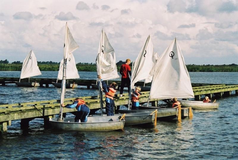 Sail class #2: the sails are hoisted