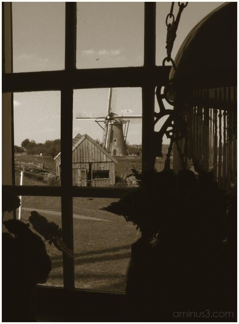 Kinderdijk: view from the miller's living room
