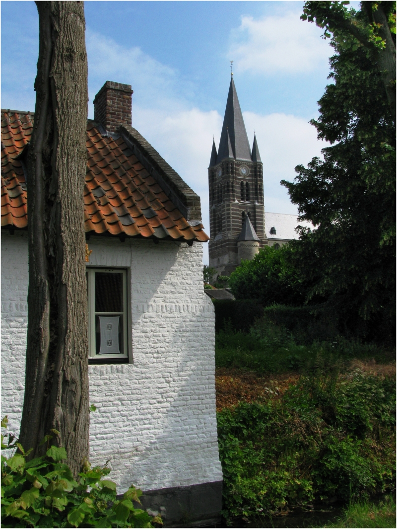 The town of Thorn, Netherlands