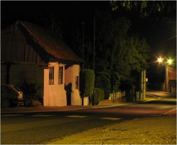 Conchil-le-Temple at night