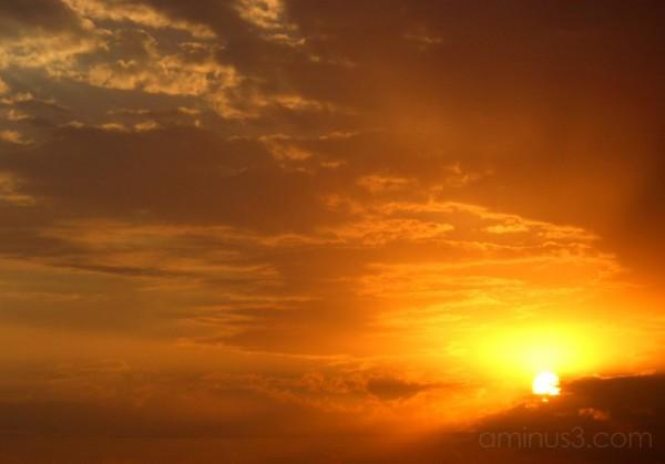 THE SUNSET ...