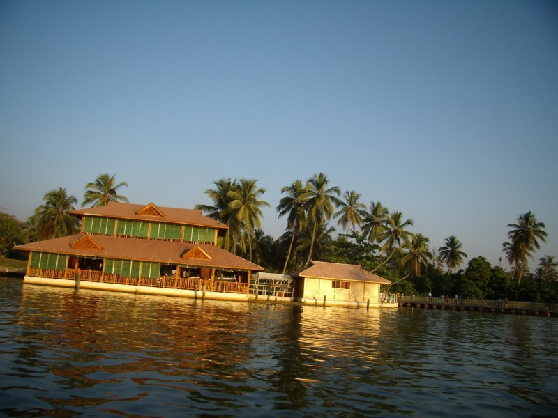 Leaning house of Kerala