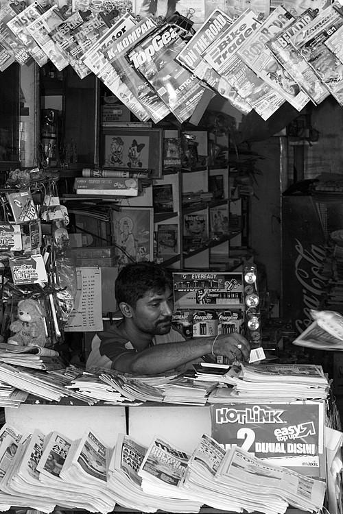 Magazines Stall
