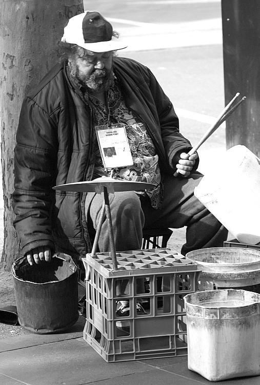 drum busker