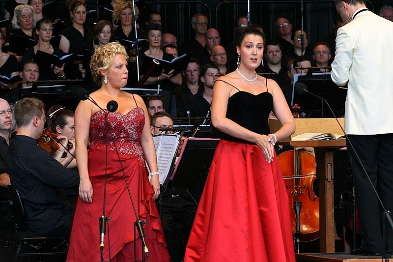 Two Operatic Singers