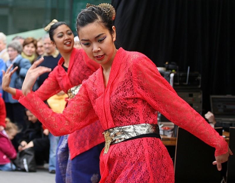 Two Malay Dancers