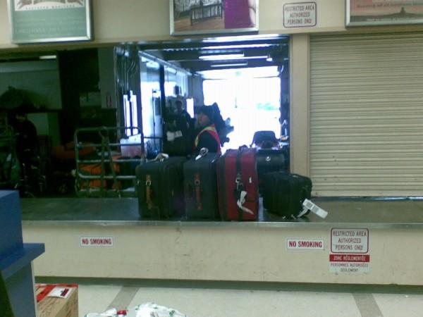 YTH baggage claim