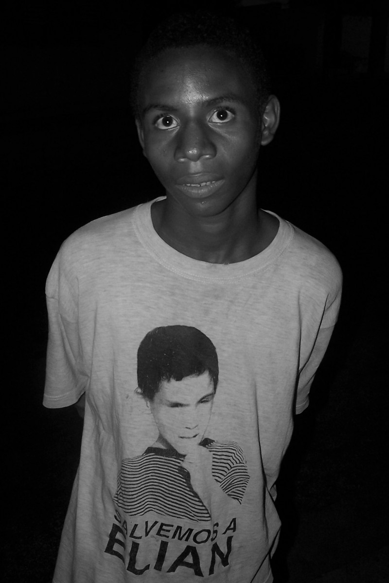 Boy in Santiago de Cuba