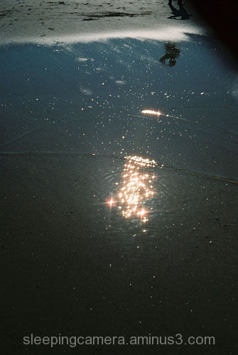 sea water Cornwall reflection light blue dark