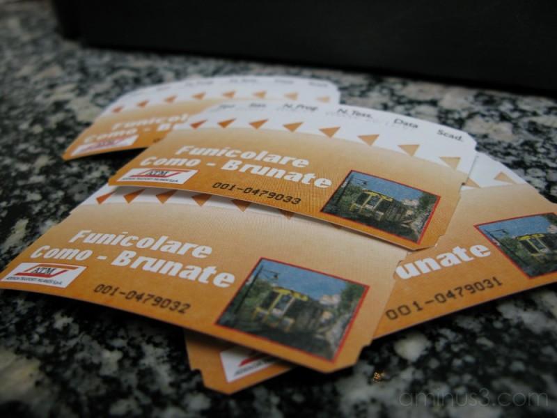 Funicolare Tickets!