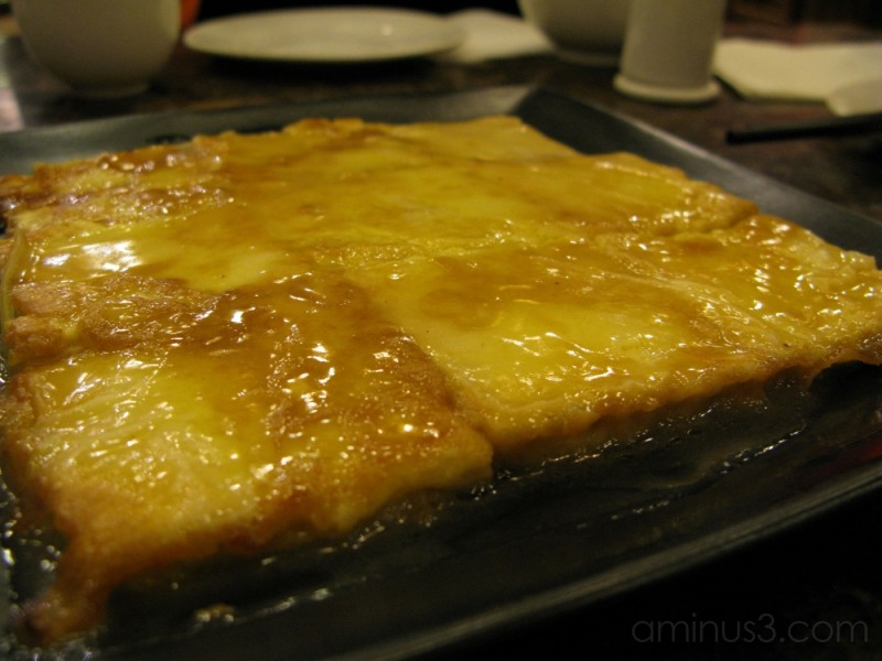 Egg Coated Tofu