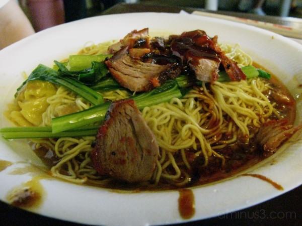 Wanton Charsiew Noodles @ ECP Food Village