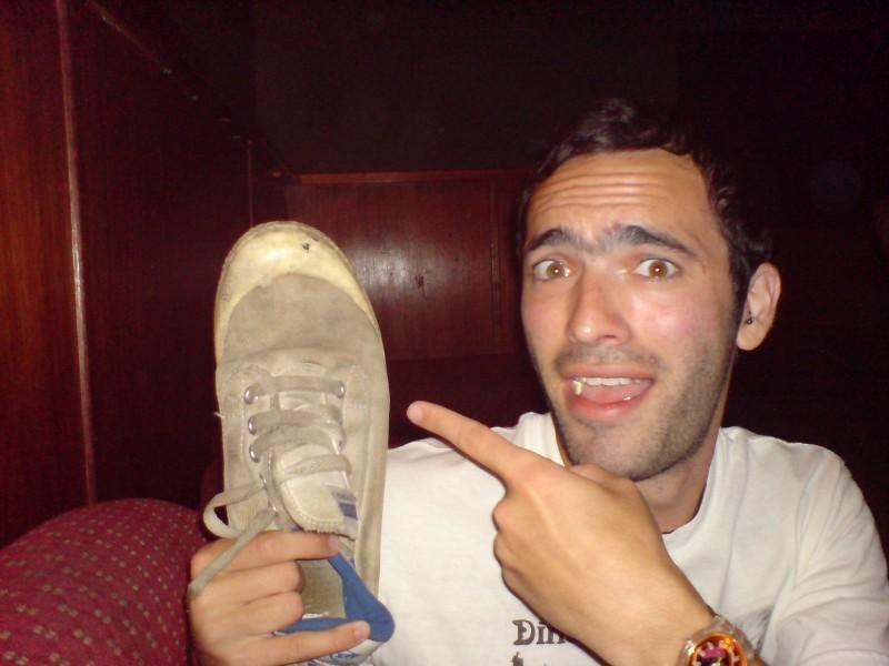 its a shoe!