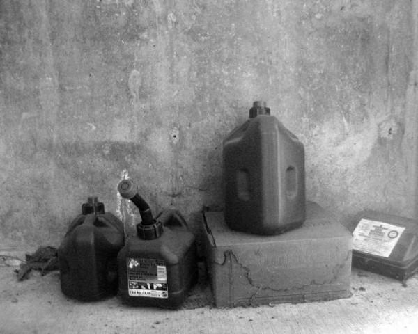 Garage still-life
