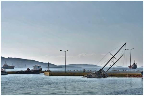 greece ship sea