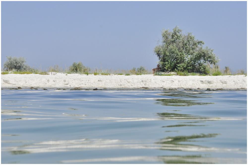 ukraine sea dzharylhach beach