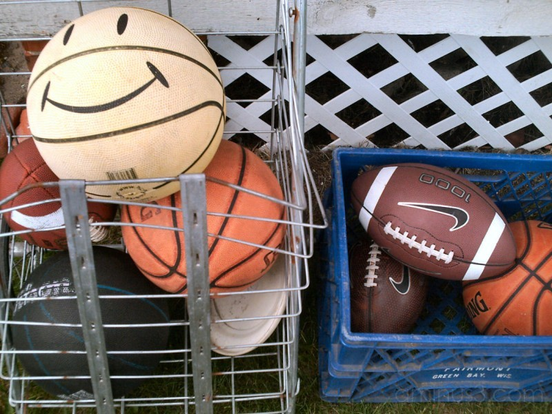 Smile if you like sports
