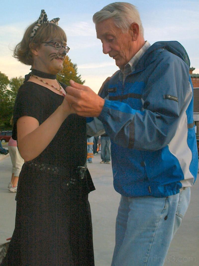 Dancing with Grandpa