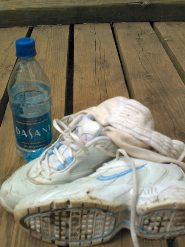 New Shoes and Bottled Water