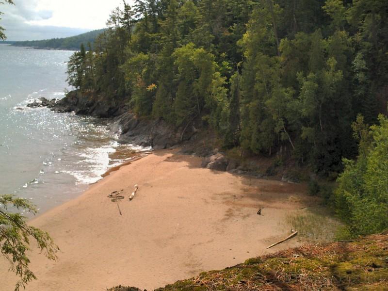 Cove off of Little Presque Isle Trails