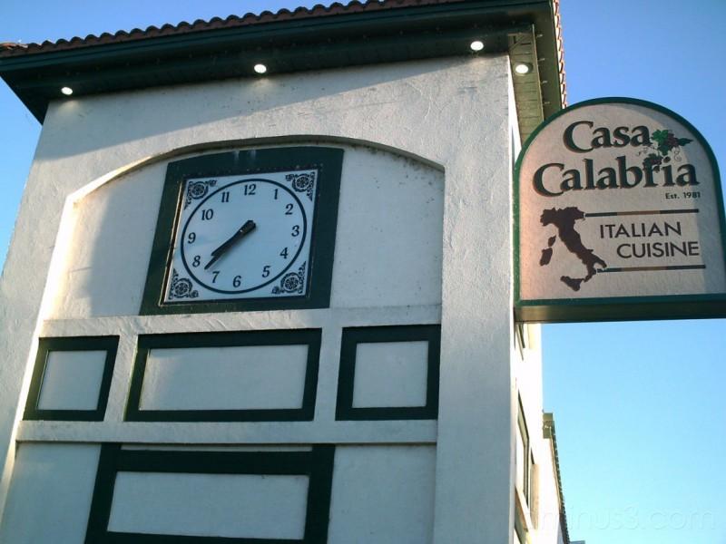 Casa Calabria Clock