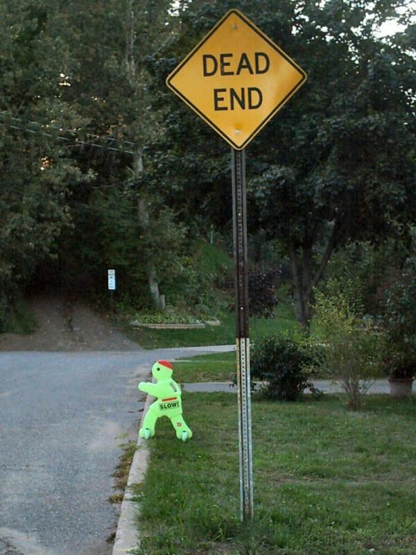 slow dude on the run