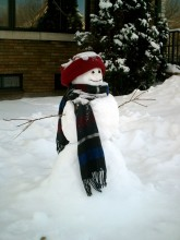 Happy Little Snowperson