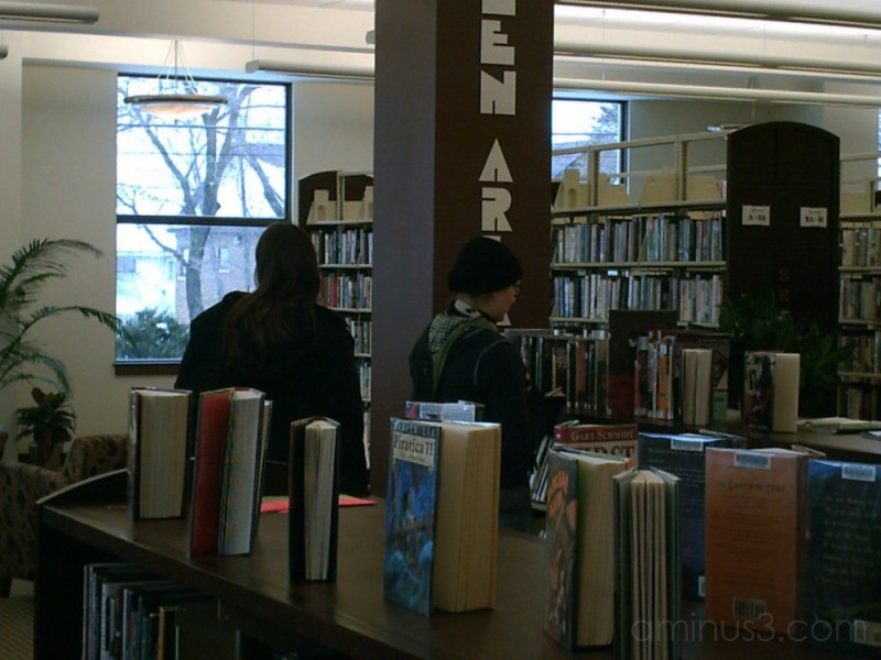 teens at the library