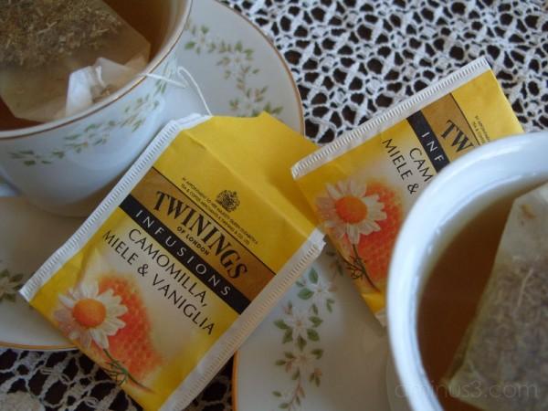 Chamomile, Honey and Vanilla Tea