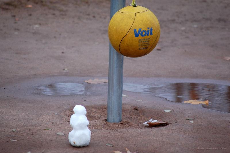 Portable Snowman