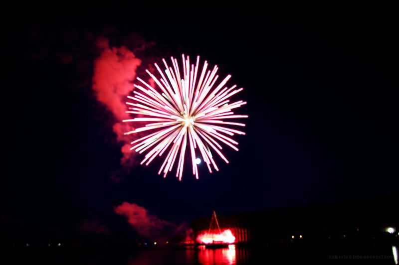 Fireworks in the Lower Harbor