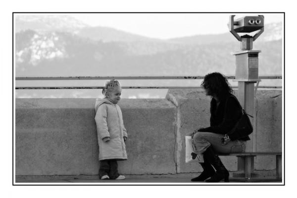 black and white, regard, people,