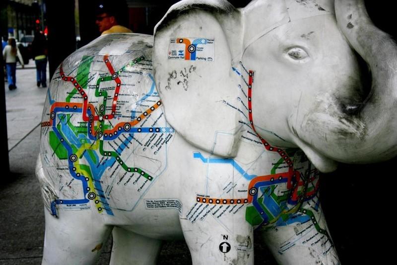 metro elephant
